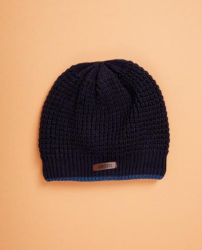 Nachtblaue Mütze